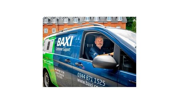 Baxi Customer Support Takes Delivery Of Its First Electric Van