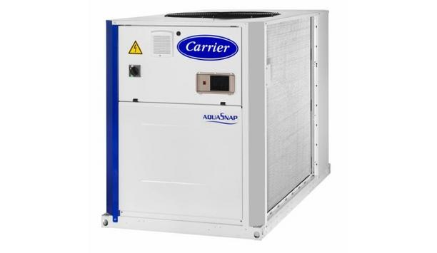 Carrier Corporation Announces Release Of AquaSnap Air-Cooled Scroll Chiller Range With R-32 Refrigerant