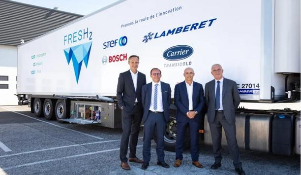 Carrier's FresH2 Hydrogen Fuel Cell Refrigerated Transport Project Enters Road Testing Phase