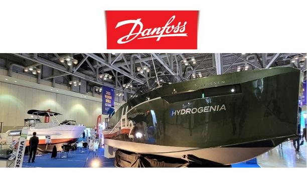 South Korea Launched Hydrogen Electric Boat Powered By A Danfoss Editron Electric Drivetrain And Sub-System