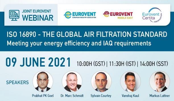 Eurovent, Eurovent Middle East And Eurovent Certita Certification Host Webinar On Global Air Filtration Standard
