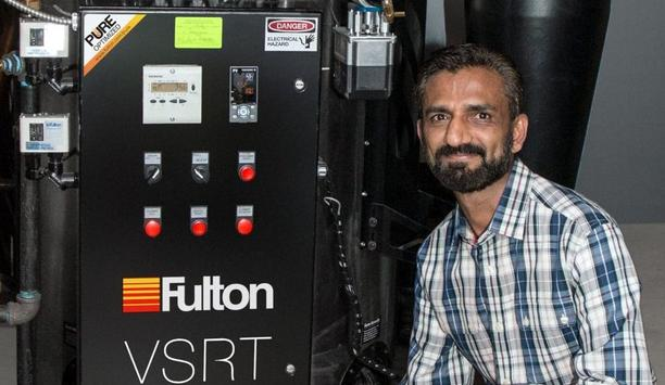 Fulton Provides Vertical Spiral Rib Tubeless Steam Boiler To Majik Touch Cleaners