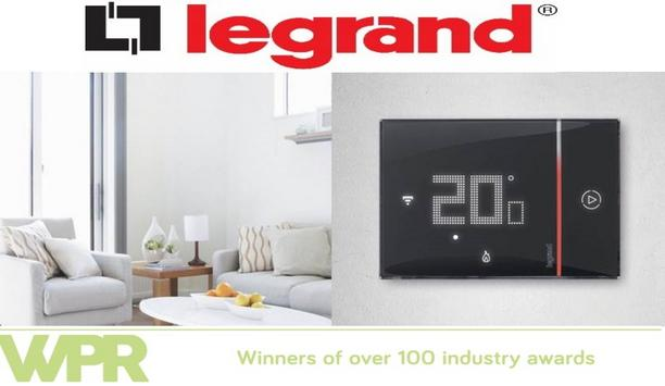 Heating Gets Even Smarter As Legrand Launches New Flush Mounted Thermostat