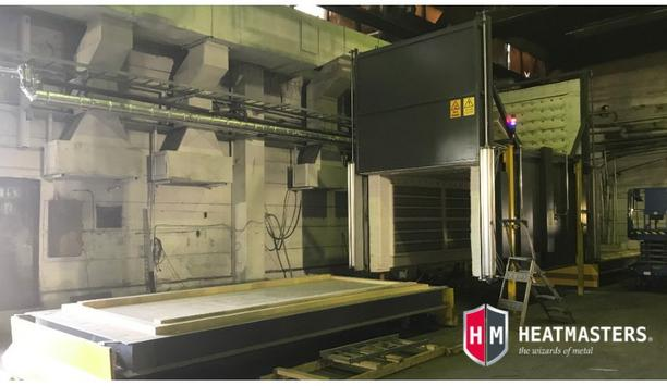 Heatmasters Announce The Delivery Of Their Electrical Heat Treatment Furnace To A Foundry In Europe
