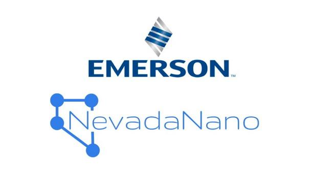 NevadaNano Partners With Emerson To Develop Low Global Warming Potential (GWP) Refrigerant Gas Sensing Solutions