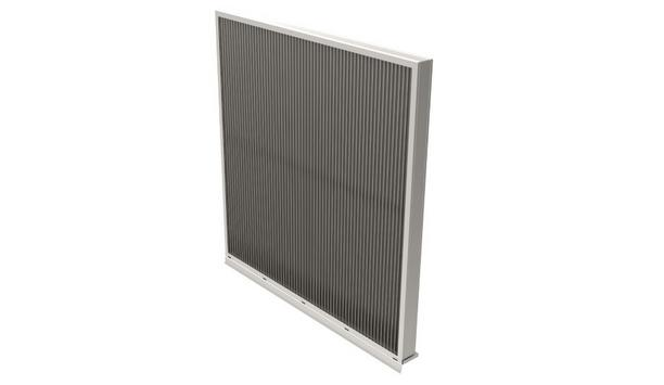 The EME3625MD Louver From Ruskin Boasts 53% Free Area And Enhanced Hurricane Safety