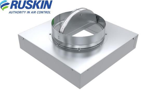 Ruskin Launch New CFD7T-SR UL Classified Ceiling Radiation Dampers for Wood Truss Construction