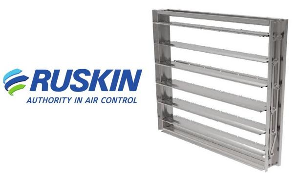 Ruskin Announces New CD60CE Critical Environment Dampers