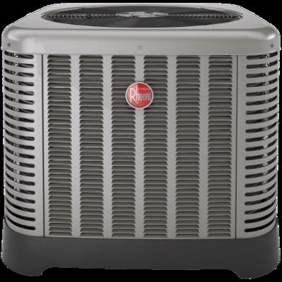 Rheem RA1660AJ1NB Classic® Series 5 ton 16 SEER Single-Stage Air Conditioner w/ High/Low Pressure-208/230/1/60