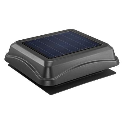 Broan-Nutone 345SOBK Surface Mount Solar Powered Attic Ventilator
