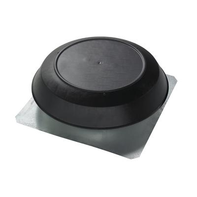 Broan-Nutone 350BK Roof Mounted Black Dome Powered Attic Ventilator