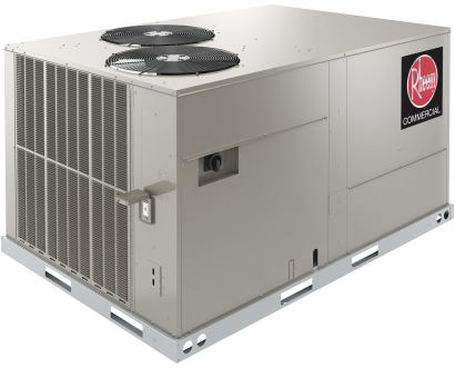 Rheem RACDZT150ACF000CAAA0 Two Stage Cooling Package Unit