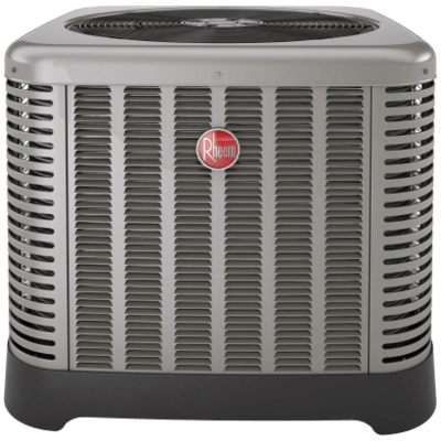 Rheem RA1442AD1NB Classic® Series 3 1/2 ton 14 SEER Single-Stage Air Conditioner w/ High/Low Pressure-460/3/60