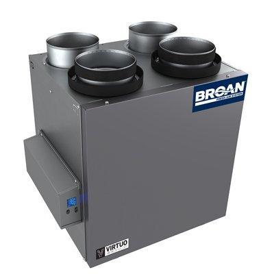 Broan-Nutone B130E65RT AI Series™ 130 CFM Energy Recovery Ventilator (ERV)