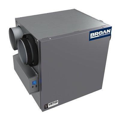 Broan-Nutone B160E65RS AI Series™ 160 CFM Energy Recovery Ventilator (ERV)