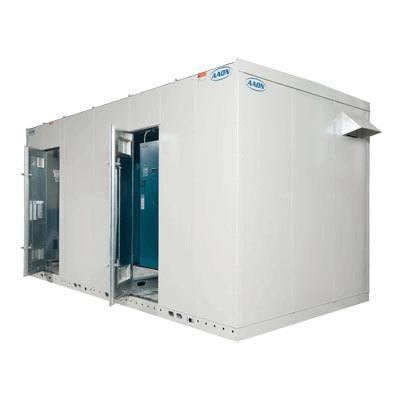 AAON BL-075 Packaged Boiler Mechanical Room