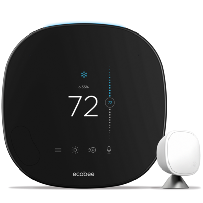 Bryant EB-STATE5BR-01 ecobee SmartThermostat Pro with voice control