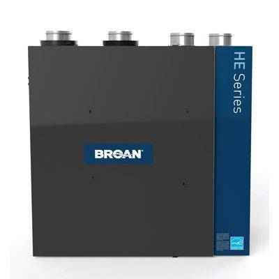 Broan-Nutone HRV250TE HE Series High Efficiency Heat Recovery Ventilator, 250 CFM at 0.4 in. w.g.