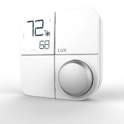 Lux Products KN-ZW-SE1-20 Senior Smart Hub Thermostat