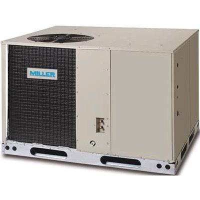 Miller P8SE 14 SEER Packaged Systems Air Conditioners & Heat Pumps (large footprint)