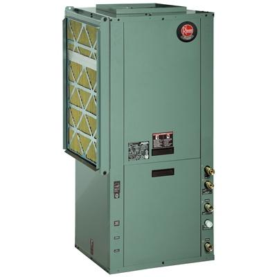Rheem RPVV Prestige Series Packaged Vertical 2-Stage Cooling/Heating 27 EER Geothermal Heat Pump