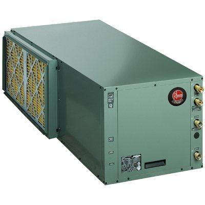 Rheem RPVH Prestige Series Packaged Horizontal 2-Stage Cooling/Heating 27 EER Geothermal Heat Pump