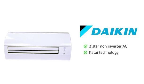 Daikin Launches FTLTV16W4 A Three Star Non Inverter AC